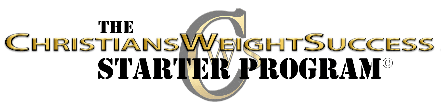 CHRISTIANS WEIGHT SUCCESS STARTER PROGRAM
