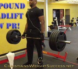 405 POUND DEADLIFT