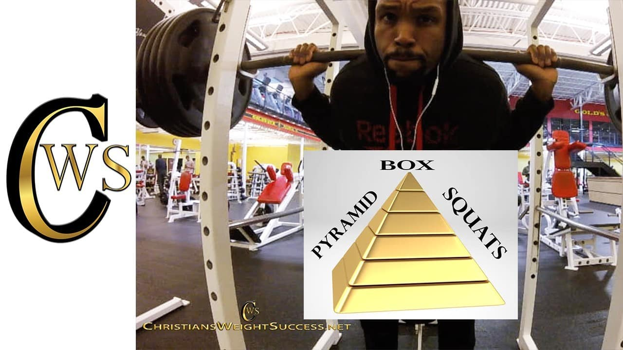 PYRAMID BOX SQUATS