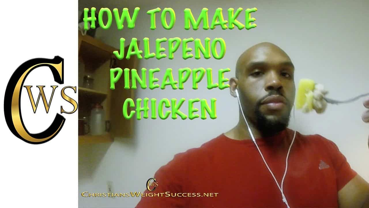HOW TO MAKE JALEPENO PINEAPPLE CHICKEN